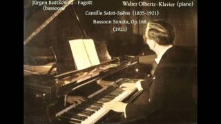 Saint-Saëns - Bassoon Sonata (1921)