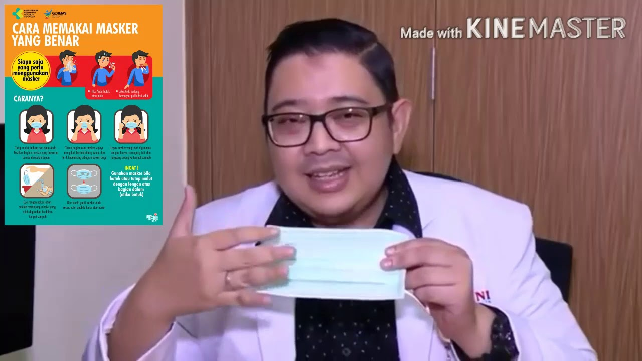 Promosi Kesehatan Cara Menggunakan Masker Yang Baik Dan Benar Agar Tidak Tertular Virus Corona Youtube