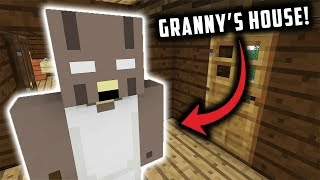 Kidnapped by GRANNY in Minecraft... (Minecraft Granny Horror Game Animation)