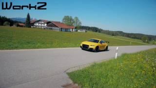 500+ hp Audi TT RS Revs, Launch Control & Driving