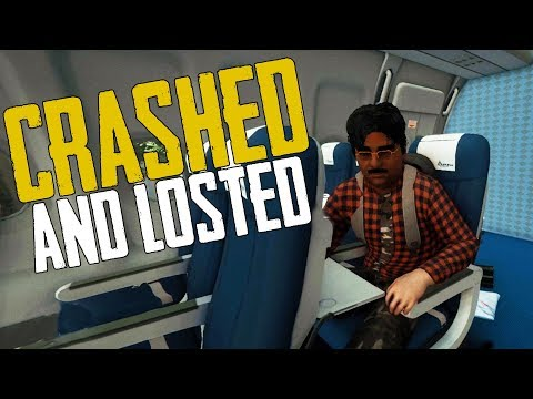 The Forest! - Crashed and Lost Again - The Forest Multiplayer w/ Boomer #1