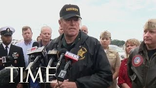 Authorities Deliver Press Conference After Mass Shooting At Naval Air Station Pensacola | TIME
