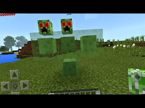 How To Spawn The Sliper Boss In Minecraft Pocket Edition NO MODS YouTube