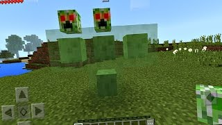 How to Spawn the Sliper Boss in Minecraft Pocket Edition (NO MODS)