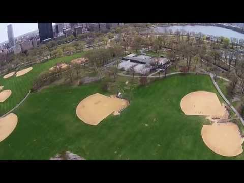 Baseball Field in Central Park NYC!