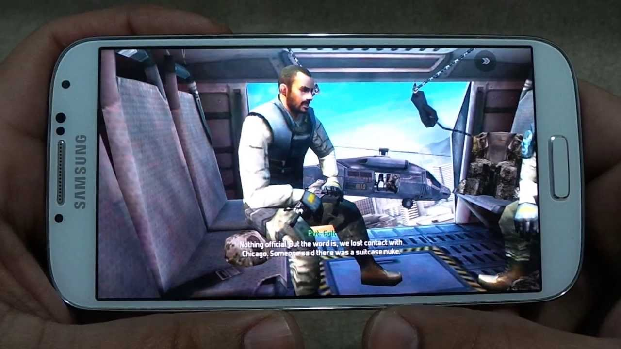 TOP 17 GAMES ON SAMSUNG GALAXY S4
