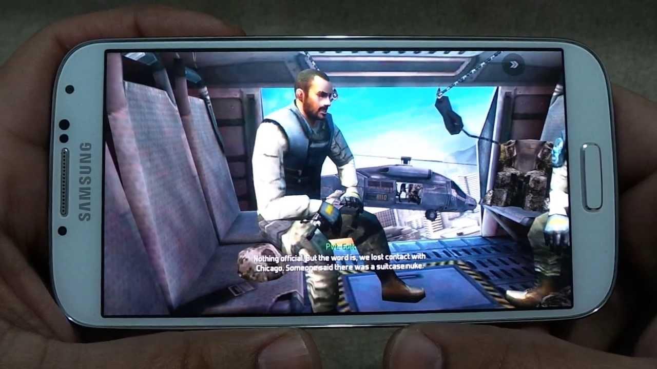 Samsung Galaxy S5 Games