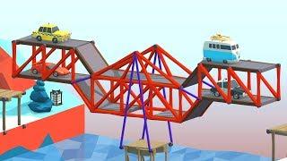 When 200 IQ Strats Defeat Gravity in Poly Bridge