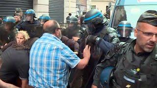 Новые беспорядки произошли в столице Франции.