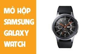 Trên thay chiếc đồng hồ Samsung Galaxy Watch 46mm tuyệt đẹp