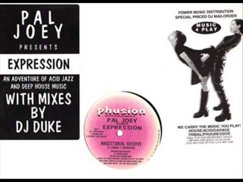 Pal Joey presents Expression - Ancestoral Groove (Phusion Recordings) 1994