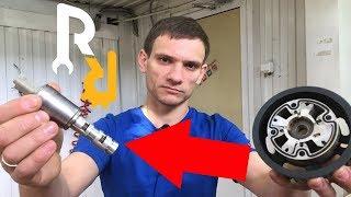 Замена фазорегулятора, клапана, сальника и регулятора Меган 2, 3 (фото и видео)