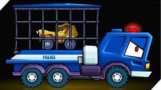 СПАСЛИ ДРУГА ОТ ПОЛИЦИИ - Игра Car Eats Car 3. Игра про хищные #машинки  # 2