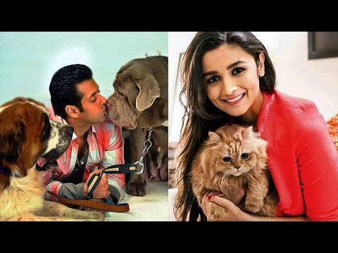 15 INDIAN CELEBRITIES & THEIR PETS