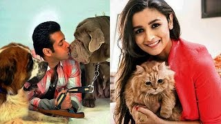 15 INDIAN CELEBRITIES amp THEIR PETS