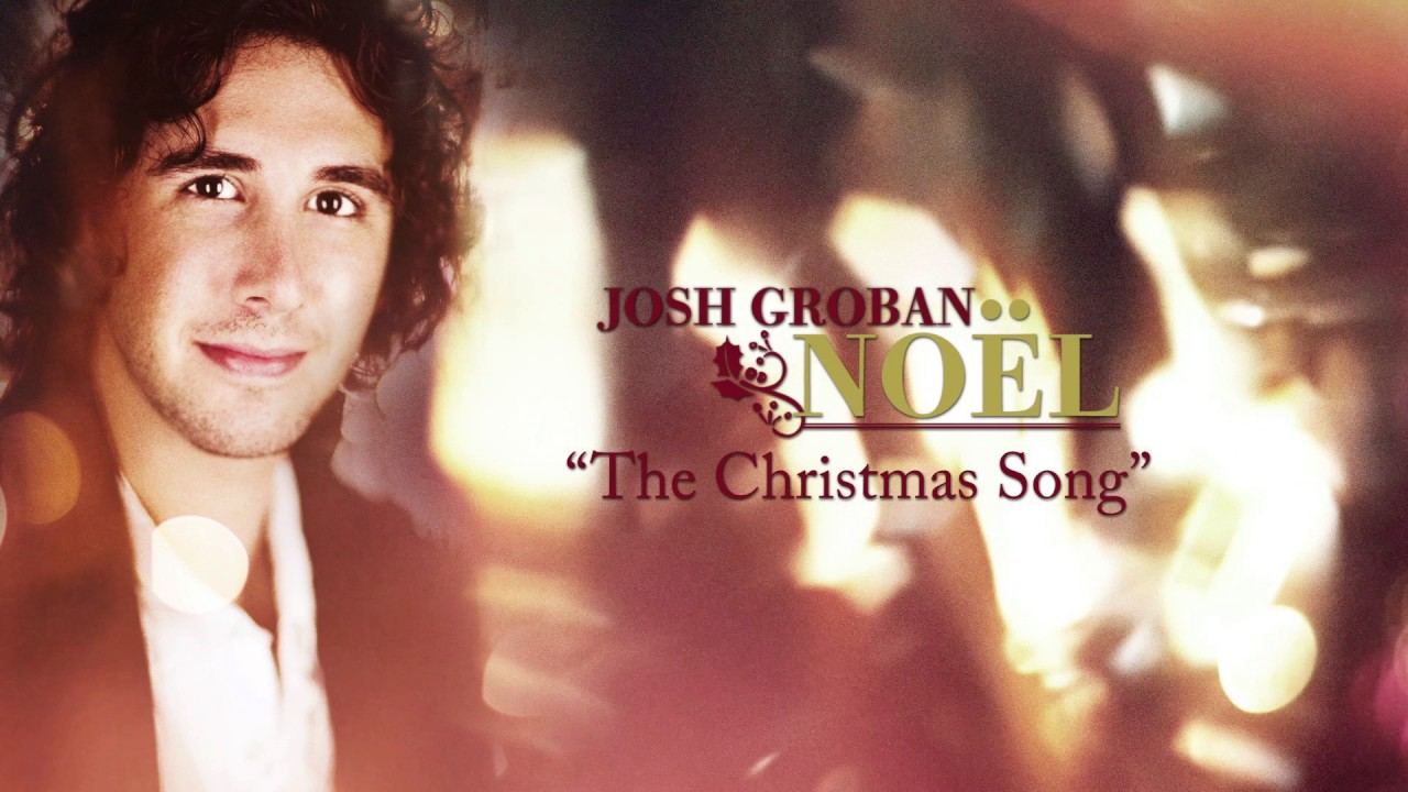 Josh Groban - The Christmas Song [Visualizer] - YouTube