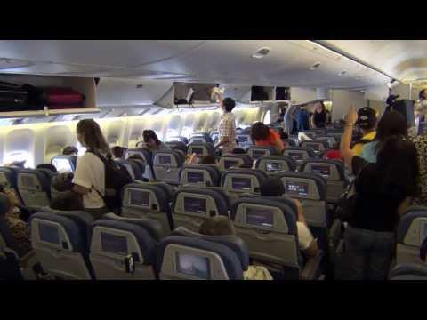 (HD) Air Canada B777-300ER From ICN To YYZ (Seoul To Toronto)--Plane Trip Video
