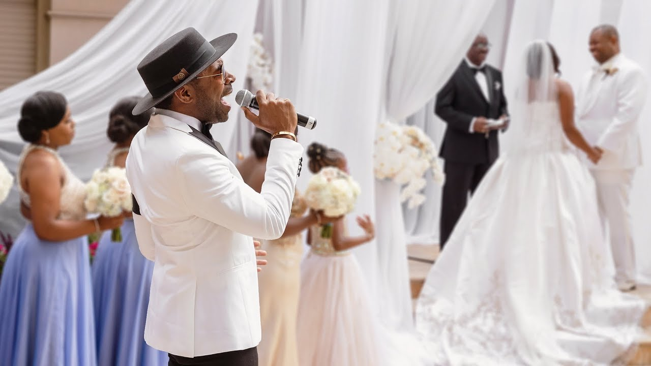 Major Performs At Wedding This Why I Love You Youtube