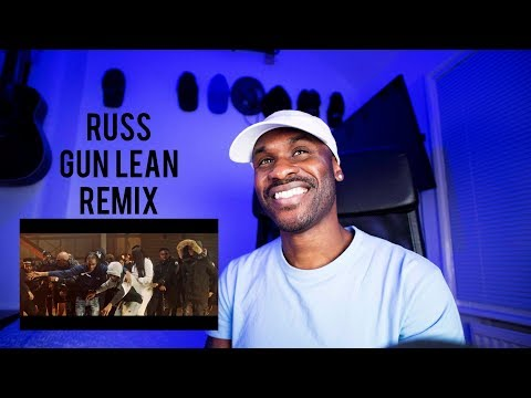 Russ Gun Lean Remix ft. Taze LD Digga D Ms Banks & Lethal Bizzle Music Video [Reaction] | LeeToTheVI