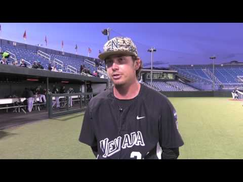 Nevada Baseball Governor Series Trophy Presentation and Post Game Interviews 5.13.17