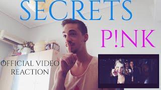 P!nk - Secrets (Official Video) REACTION
