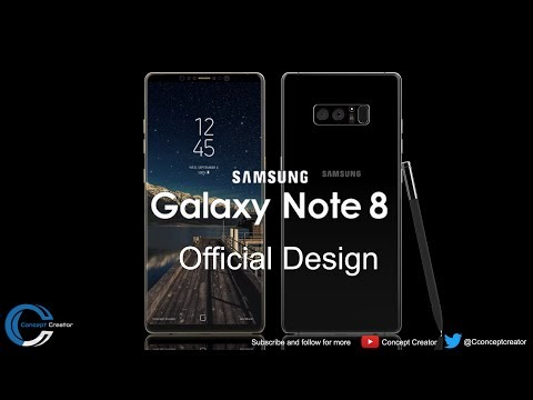 Samsung Galaxy note 8 - Deep Sea Blue