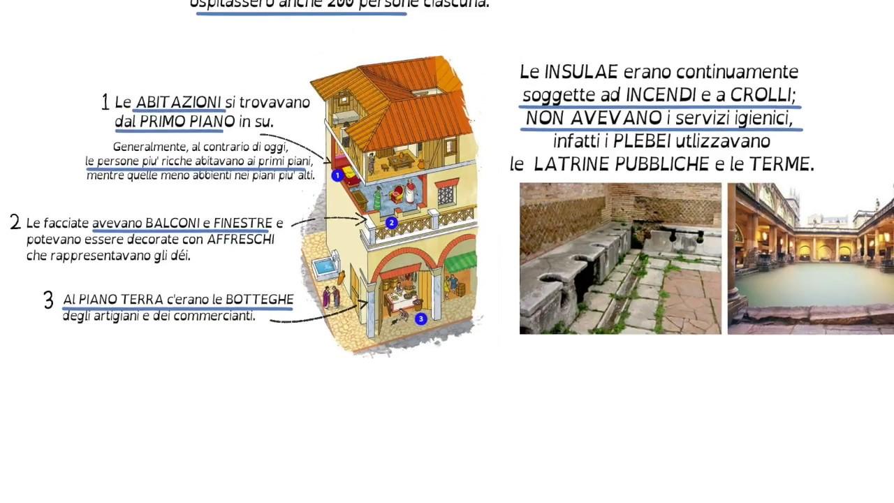 Le Case Romane Le Insulae Youtube