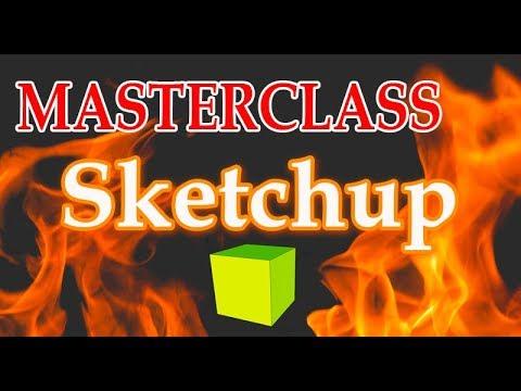 MASTERCLASS plugin ClothWorks en Sketchup 2018 - v 02