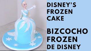 Disney's Frozen Doll Fondant Cake - Bizcocho De Frozen De Disney