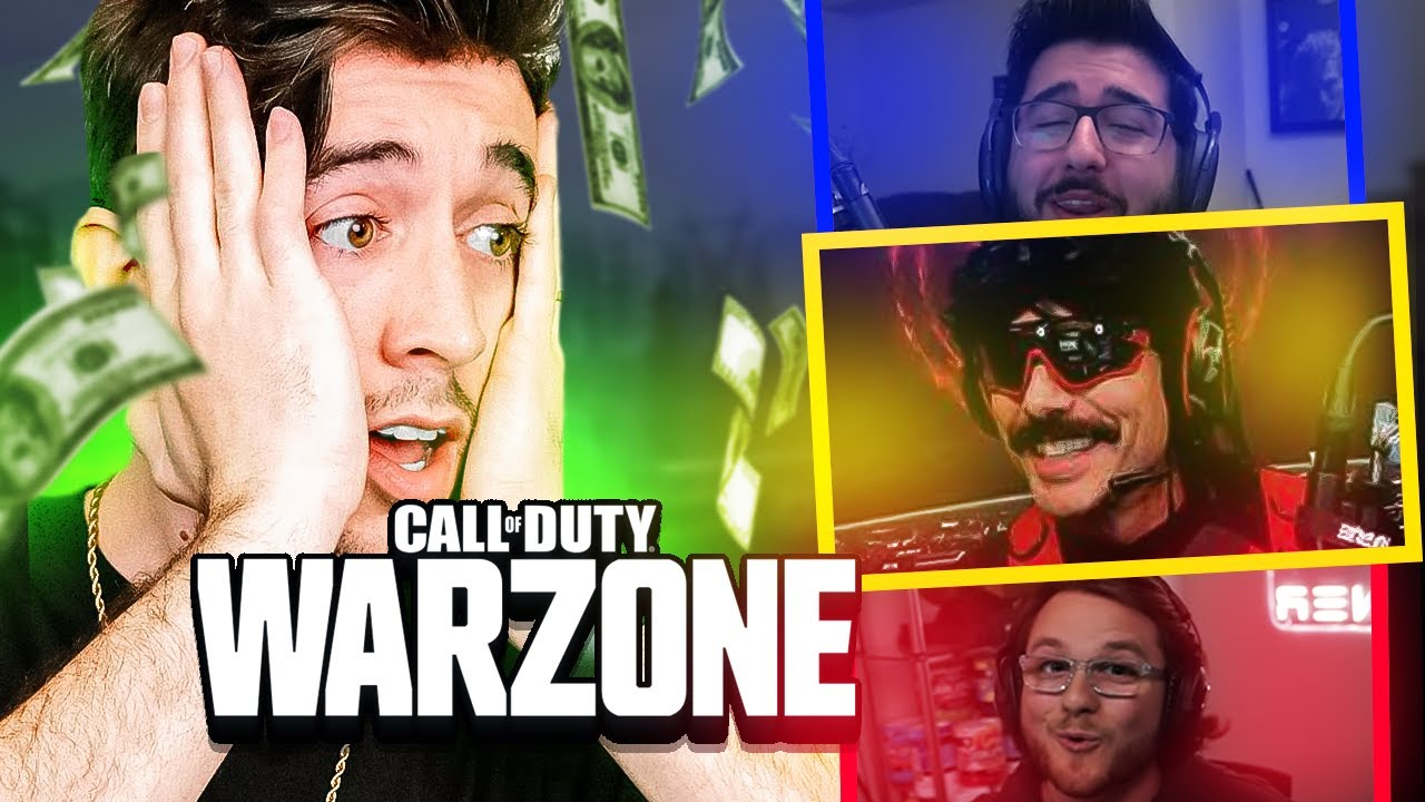 10 Creators and 10 Pro's COMPETE for $10,000 in Warzone!!