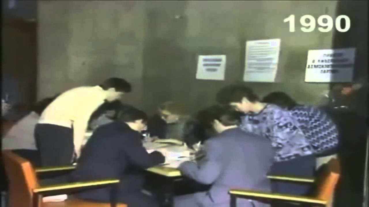 Интервью Жириновского Киселёву на первом съезде ЛДПР 1990