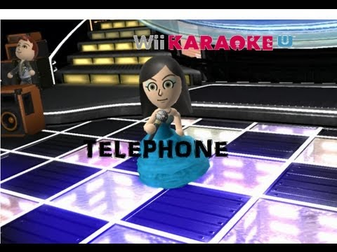 Wii Karaoke U |WiiU| Telephone (Lady Gaga) [HD]