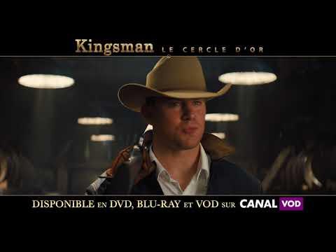 Kingsman Le Cercle d'Or - spot VOD 20s SEXIER