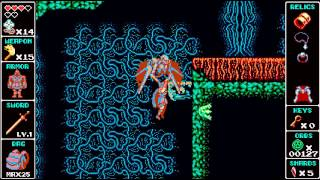 Odallus - Dark Forest Area 1 Secret 6/6 (Hidden Backpack) with Dash/Cloak only