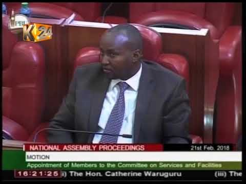 Comic relief as MPs complain over poor facilities and services