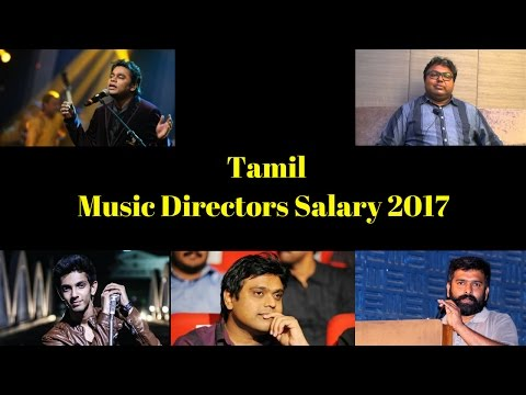 Tamil Music Directors Real Salary 2017 I TN Trends
