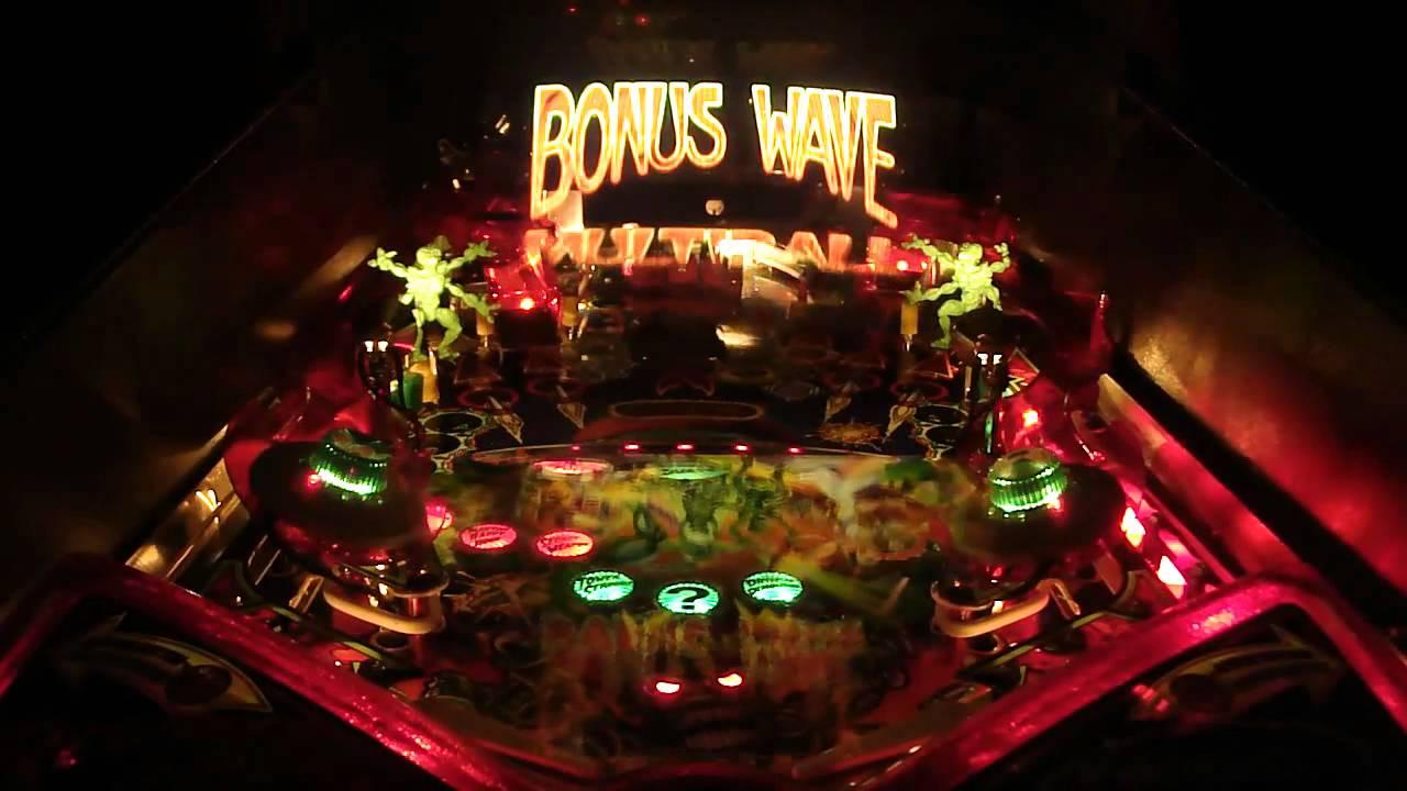 Revenge from Mars Pinball - YouTube