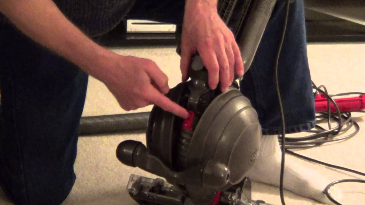 How to Clean a Dyson Vacuum - Dyson Blockage - dc 65 - YouTube