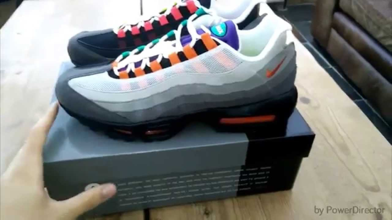 nike air max 95 greedy fake
