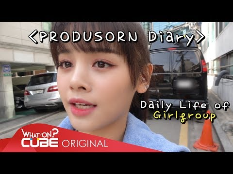 "손(SORN) - ""PRODUSORN Diary"" 001 : Daily life of Girlgroup"