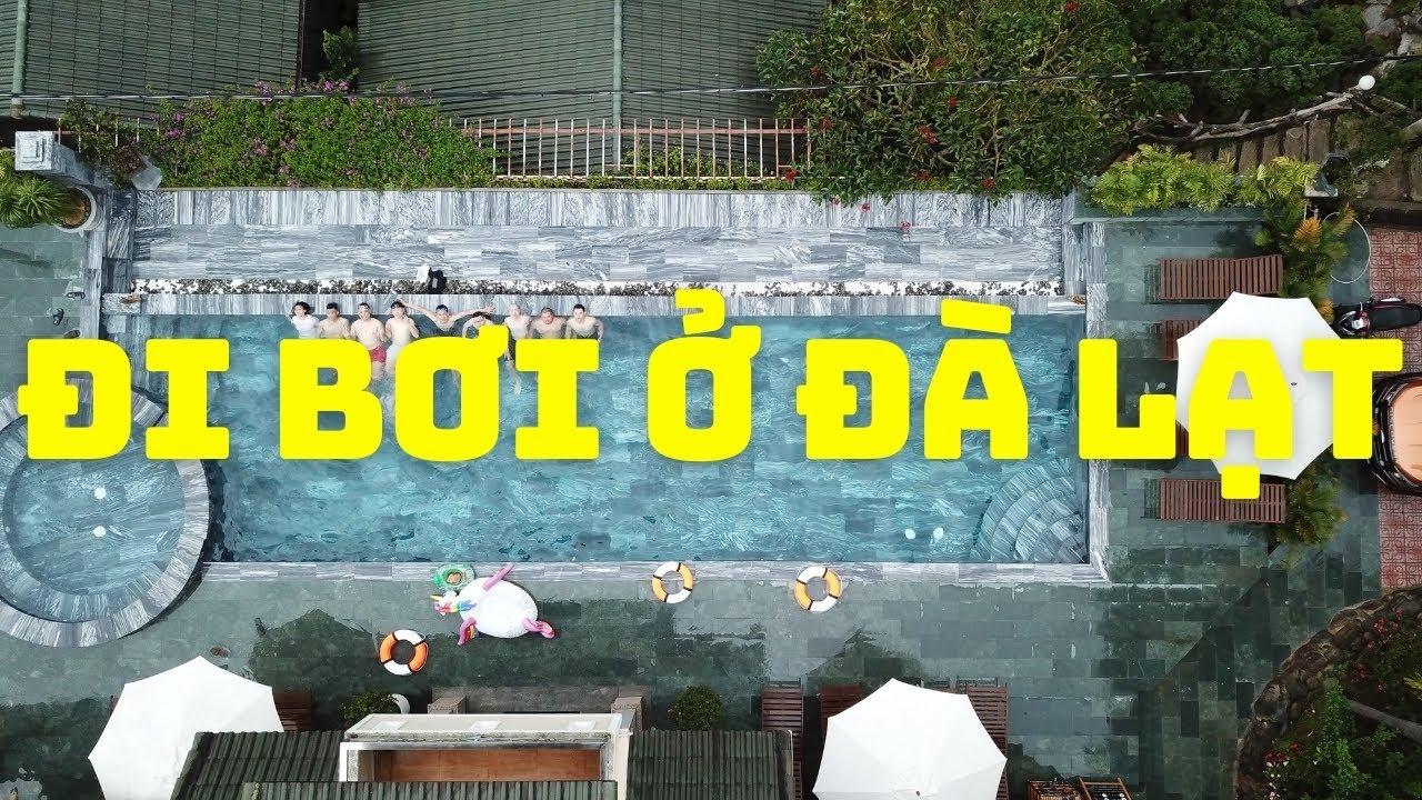 TKG LIVE - Tìm vui đi bơi ở Đà Lạt và coi lại video khai trương CONIC