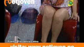 Repeat youtube video Florcita Polo enseña calzoncito y buena figura en Enemigos Íntimos