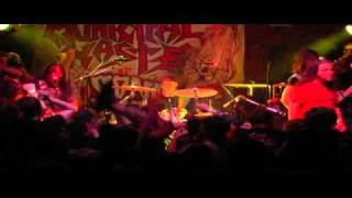 Municipal Waste - 04 - The thrashing of the Christ / Sweet Attack (Live At Alley Katz).avi