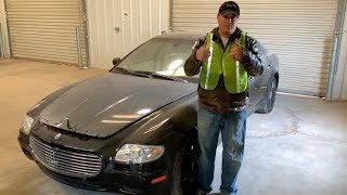 Copart Walk Around + Maserati Quattroporte 12-4-18