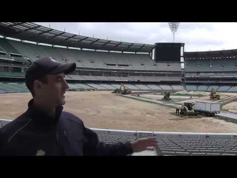 MCG Turf Replacement - behind the scenes
