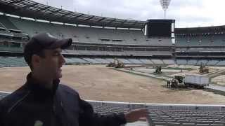Video MCG Turf Replacement - behind the scenes download MP3, MP4, WEBM, AVI, FLV Mei 2018