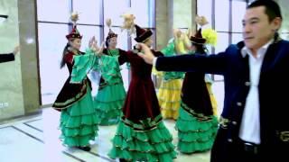 Kazak Halk Oyunu - Kara Jorga (rahvan at yürüyüşü)