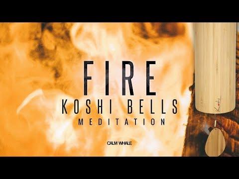 FIRE Element Koshi Wind Chimes Meditation - Balancing The Emotional Energy