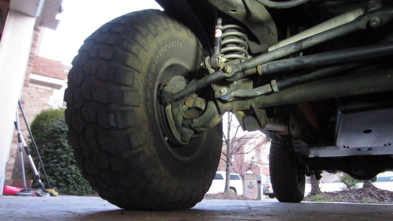 Bad Tie Rod On Jeep Wrangler