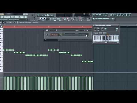 FL Studio 10 [ Tutorial ] - HARDSTYLE - MELODIE erstellen in ungefähr 5 MINUTEN!
